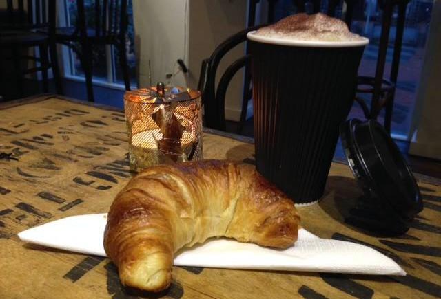 Croissant friskbagt